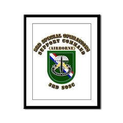 SOF - 3rd SOSC Framed Panel Print