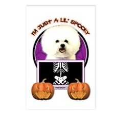 Just a Lil Spooky Bichon Postcards (Package of 8)