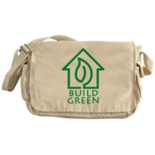 Build Green Messenger Bag