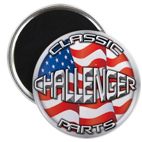 "Challenger Classic 2.25"" Magnet (100 pack)"