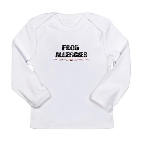 Food Allergies Long Sleeve Infant T-Shirt