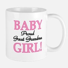 Baby Girl Great Grandma Mug