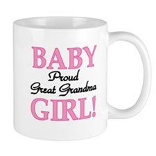 Baby Girl Great Grandma Small Mug