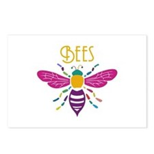 Unique Bees Postcards (Package of 8)