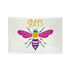 Cute Apiary Rectangle Magnet
