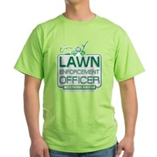 Lawn Enforcement Officer Ash Grey T-Shirt