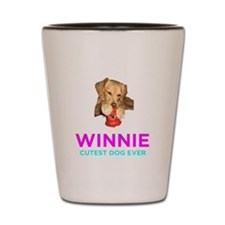 Winnie - Cutest Dog Ever Shot Glass