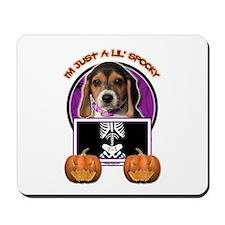 Just a Lil Spooky Beagle Mousepad