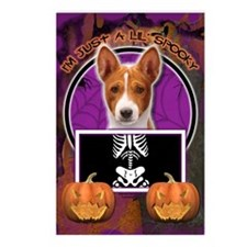 Just a Lil Spooky Basenji Postcards (Package of 8)