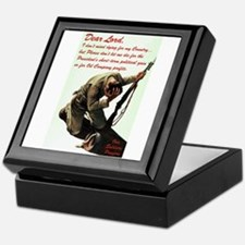 A Soldier's Prayer Keepsake Box