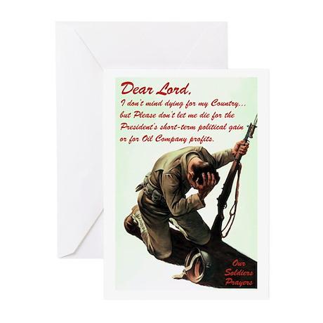Soldier's Prayer Greeting Cards (10 Pk)