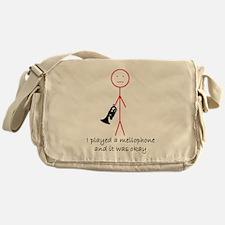 I Played A Mello Messenger Bag
