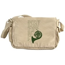 Cute Camp Messenger Bag