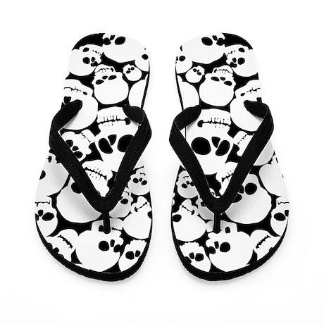 Skull Pile b/w Flip Flops