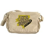 Bladder Cancer Survivor Messenger Bag