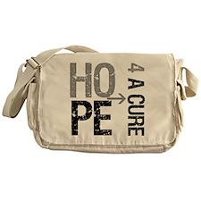 Hope Cure Brain Cancer Messenger Bag