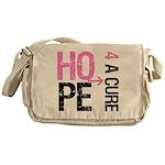 Hope Cure Breast Cancer Messenger Bag