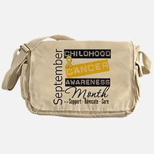 September Childhood Cancer Mo Messenger Bag