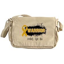 Childhood Cancer Warrior Messenger Bag