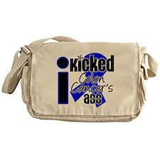IKickedColonCancerAss Messenger Bag