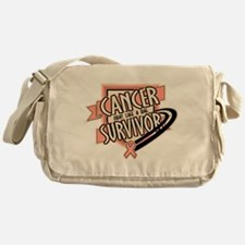Endometrial Cancer Survivo Messenger Bag