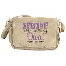 Cancer Wrong Diva Messenger Bag