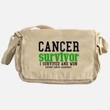 Cancer Survivor Messenger Bag