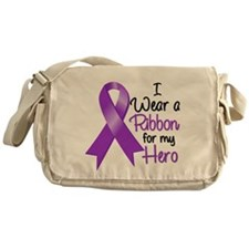 Hero - Leiomyosarcoma Messenger Bag