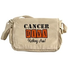 Cancer Diva (Orange) Messenger Bag