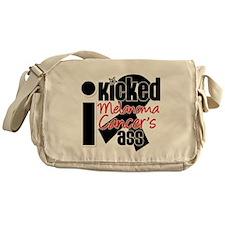 IKickedMelanomaAss Messenger Bag
