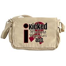 IKickedMyelomaAss Messenger Bag