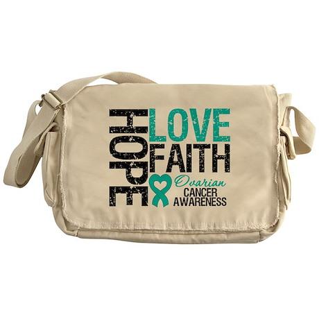 Ovarian Cancer Hope Messenger Bag