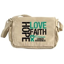 Ovarian Cancer Hope Messenger Bag