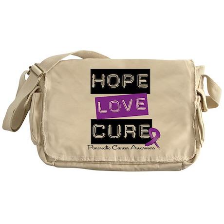 Pancreatic Cancer Hope Messenger Bag