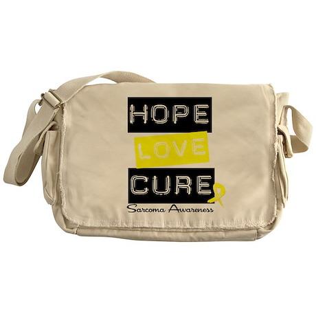 Sarcoma HopeLoveCure Messenger Bag