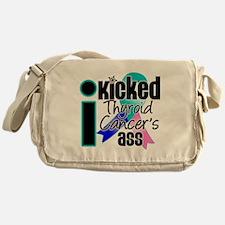 IKickedThyroidCancerAss Messenger Bag