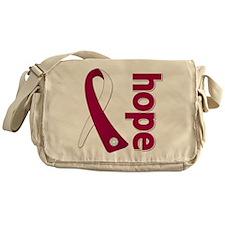 Hope Head Neck Cancer Messenger Bag