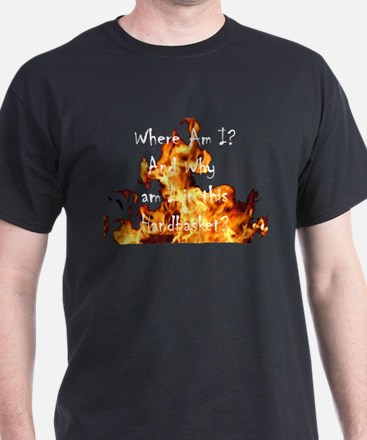 Where are YOU! Black T-Shirt