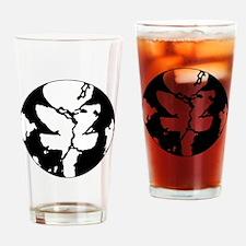 Black/White Discgaea Drinking Glass