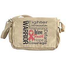 Warrior Breast Cancer Messenger Bag