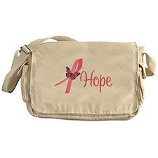 Breast Cancer Hope Messenger Bag