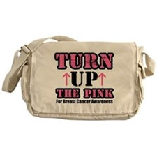 Turn Up The Pink (BC) Messenger Bag