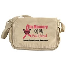 In Memory Breast Cancer Messenger Bag