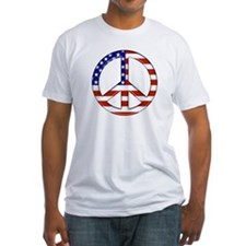 American flag/Peace Shirt