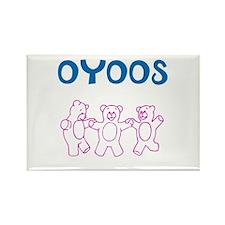 OYOOS Kids Bear design Rectangle Magnet