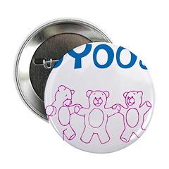 "OYOOS Kids Bear design 2.25"" Button (10 pack)"