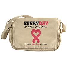 Breast Cancer Miss Mom Messenger Bag