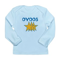 OYOOS Stars design Long Sleeve Infant T-Shirt