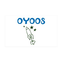 OYOOS Kids Rocket design Wall Decal
