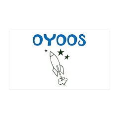 OYOOS Kids Rocket design Wall Decal